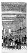 British Museum, 1845 Beach Towel
