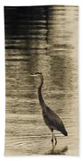 Bronze Lake Beach Towel