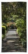 Brookgreen Gardens Path Beach Towel