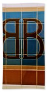 Brooklyn Bridge Station Beach Towel