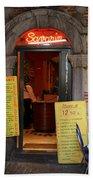 Brussels - Restaurant Savarin Beach Towel