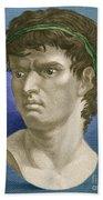 Brutus, Roman Politician Beach Towel