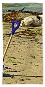 Bucket And Spade Beach Towel