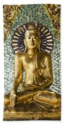 Buddha In Glass Beach Towel