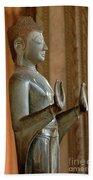 Buddha Vientienne Laos Beach Towel
