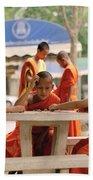 Buddhist Childhood Beach Towel
