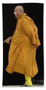 Buddhist Monk 3 Beach Towel