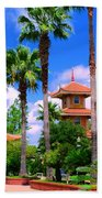 Buddhist Temple Beach Towel