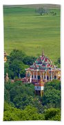 Buddist Temple Beach Towel
