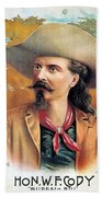 Buffalo Bill Cody, C1888 Beach Towel