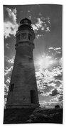 Buffalo Lighthouse 16717b Beach Towel