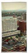 Buffalo New York Aerial View Beach Towel