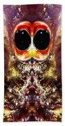 Bug Eyes Beach Towel by Skip Nall