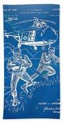 Bulletproof Patent Artwork 1968 Figure 15 Beach Towel