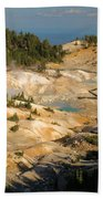 Bumpass Hell Beach Towel