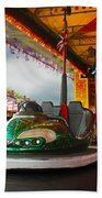 Bumper Cars Beach Towel