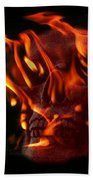 Burning Man Beach Towel