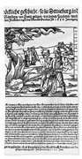 Burning Of Witches, 1555 Beach Towel