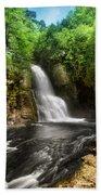 Bushkill Waterfalls Beach Towel
