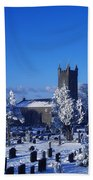 Bushmills Church, County Antrim Beach Towel