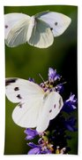 Butterfly - Visiting Beach Towel