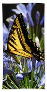 Butterfly Catcher Beach Towel