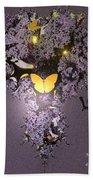 Butterfly Paradise Beach Towel