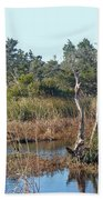 Buxton Salt Marsh - Outer Banks Nc Beach Towel