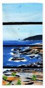 By The Sea Beach Towel