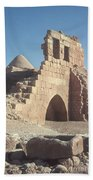 Byzantine Ruins Beach Towel by Photo Researchers, Inc.
