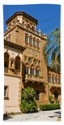 Ca D Zan  Winter Home Of John And Mable Ringling Beach Towel