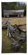 Cable Mill Barn In Cade's Cove No.123 Beach Towel
