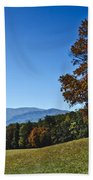 Cades Cove Landscape Beach Towel