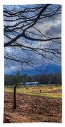 Cades Cove Lane Beach Towel