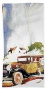 Cadillac Ad, 1929 Beach Towel
