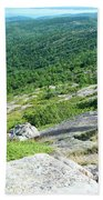 Cadillac Mountain Rocky View Beach Towel