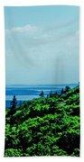 Cadillac Mt Mt Desert Island Me Beach Towel
