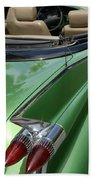 Cadillac Tail Fins Beach Towel