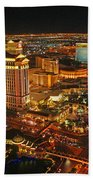 Caesars Palace On The Strip Beach Towel