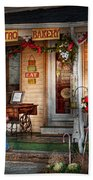 Cafe - Clinton Nj - Bistro Bakery  Beach Towel