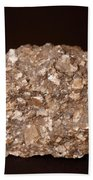 Calcite Under Visible Light Beach Towel