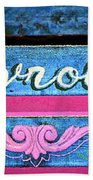 California Chevy Chic Beach Towel
