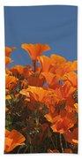 California Poppies Beach Sheet