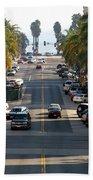 California Street Beach Towel