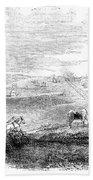 California: Vallejo, 1852 Beach Towel