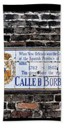 Calle D Borbon Beach Towel by Bill Cannon