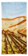 Camel Shadows Beach Towel