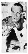 Camilo Cela (1916-2002) Beach Towel
