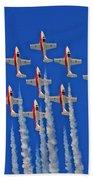 Canadian Air Force - Snowbirds Beach Towel