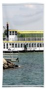 Canandaigua Lady Paddleboat Beach Sheet